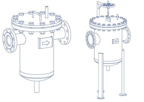 Фильтры-грязевики жидкостные магнитные ФГЖМ - Магнитные шламоотводители  производство ООО ТЭК