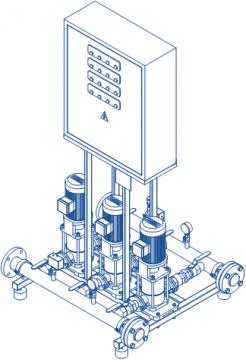 Автоматизированные насосные станции «ZEVS» производство «ТЭК»